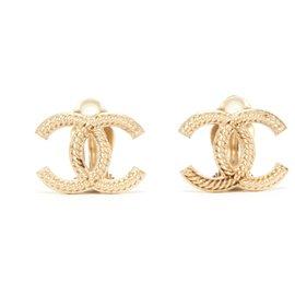 Chanel-LARGE C GOLDEN CLIP-Doré