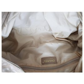 Chanel-Chanel Travel Line Pink CC Monogram Shopper Handbag-Pink