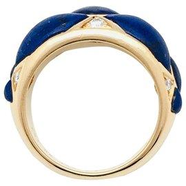 Van Cleef & Arpels-Bague Van Cleef et Arpels lapis lazuli et diamants-Autre