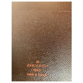 Louis Vuitton-Louis Vuitton document cover-Ebony