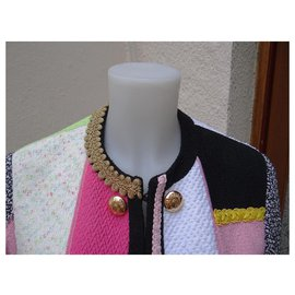 Moschino-Vestes-Multicolore