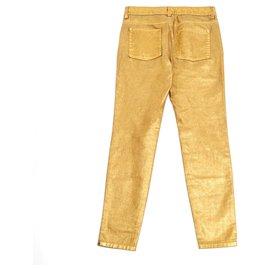Chanel-GOLDEN SLIM FR38-Golden
