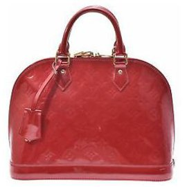 Louis Vuitton-Louis Vuitton Alma-Rouge