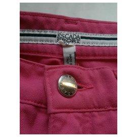 Escada-Pantalons, leggings-Rose