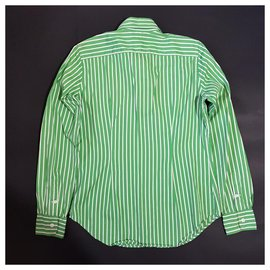 Ralph Lauren-chemises-Blanc,Vert