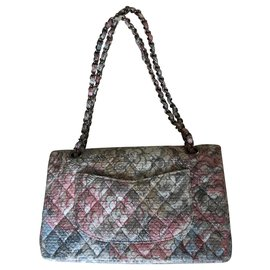Chanel-Sac Chanel Timeless vintage-Multicolore