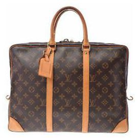Louis Vuitton-Louis Vuitton Porte-documents-Marron