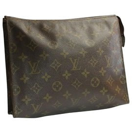 Louis Vuitton-Toilette Louis Vuitton Poche 26-Marron