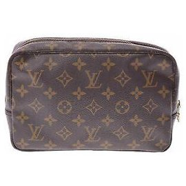 Louis Vuitton-Toilette Trousse Louis Vuitton-Marron
