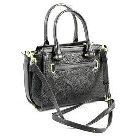 Coach-Coach leather bag new-Black