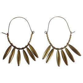 Isabel Marant Etoile-Boucles d'oreilles-Bronze