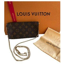 Louis Vuitton-Pochettes-Marron