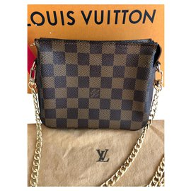 Louis Vuitton-Sacs à main-Marron