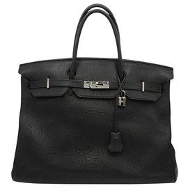 Hermès-HERMES BIRKIN bag 40-Black