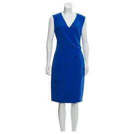 Diane Von Furstenberg-Robe bleue DvF-Bleu