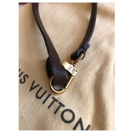 Louis Vuitton-anse marron-Marron