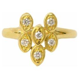 Dior-Bague Diamant Dior-Jaune