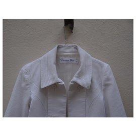 Dior-blazer-Blanc,Blanc cassé