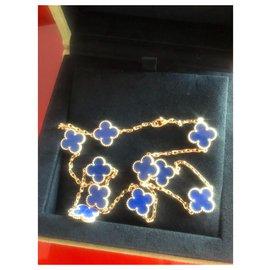 Van Cleef & Arpels-Alhambra-Bleu