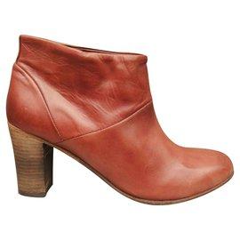 Anthology Paris-boots Antholy Paris new condition-Brown
