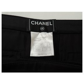 Chanel-CHANEL Pantalon Habillé-Noir