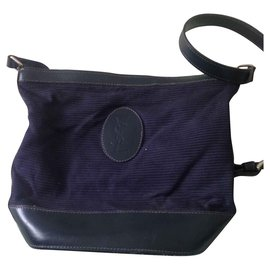Yves Saint Laurent-YSL vintage bag-Blue