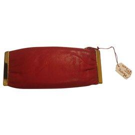 Lanvin-Bourses, portefeuilles, cas-Rouge