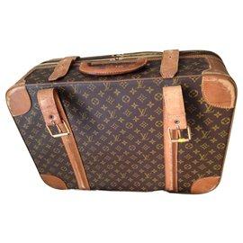 Louis Vuitton-valise stratos de louis vuitton-Marron