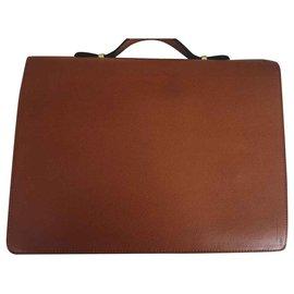 Lancel-Bags Briefcases-Light brown