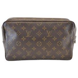 Louis Vuitton-Toilette Trousse Louis Vuitton-Marron