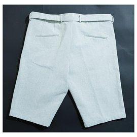Jil Sander-Pantalons-Bleu clair