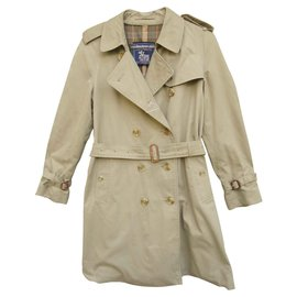 Burberry-trench Burberry for The Scottish House, vintage, t 38-Kaki