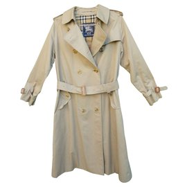 Burberry-vintage Burberry trench coat 38 (10 UK)-Beige