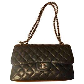 Chanel-Timeless Jumbo-Black