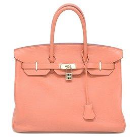 Hermès-HERMES BIRKIN 35-Pink