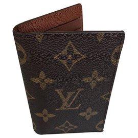 Louis Vuitton-Pocket organizer-Brown