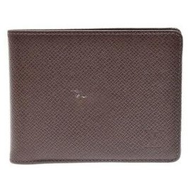 Louis Vuitton-Louis Vuitton Bifold Bill Wallet-Brown