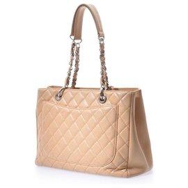 Chanel-Chanel Classique Tote Bag Matelassé-Beige