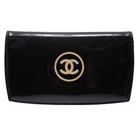 Chanel-Chanel Cosmetic Wallet-Black