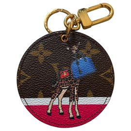 Louis Vuitton-Collector Christmas Giraffe Limited Edition-Golden