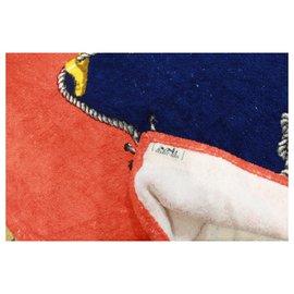 Hermès-serviette de bain-Multicolore