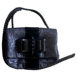 Christian Louboutin-Mini-Tasche-Silber