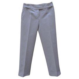 Dior-Pantalons, leggings-Blanc