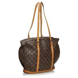 Louis Vuitton-Babylone Monogram Brown Louis Vuitton-Marron