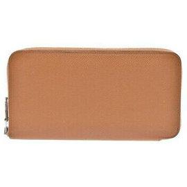 Hermès-Hermès Azaplong Wallet-Brown
