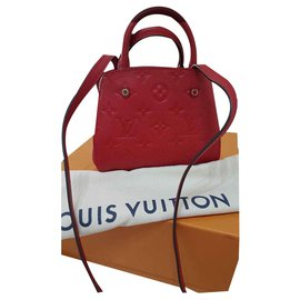 Louis Vuitton-Louis Vuitton Mountains-Rouge