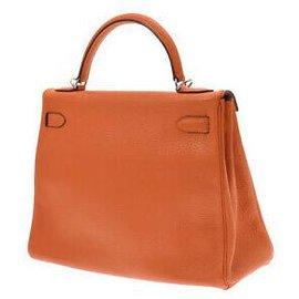 Hermès-hermes kelly 32-Orange