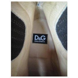 Dolce & Gabbana-Dolce & Gabbana boots size 45 1/2 Mint condition-Dark brown