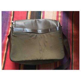 Louis Vuitton-LV handbag man-Olive green