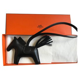 Hermès-Hermes Rodeo All black PM-Black